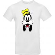 Bc T-shirt Goofy - Disney - Daffy Duck - Donald Duck - Mickey Mouse - Tekenfilm - Kinderen - Televisie - Cartoon - Grappig - Leuk Unisex T-shirt 2XL
