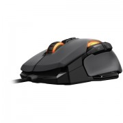 Mouse, Roccat Kone AIMO, Gaming, RGBA Smart Customization, USB, Gray (11-815-GY)