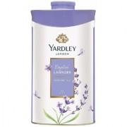 Yardley London English Lavender Perfumed Talc 250g (Pack of 2)