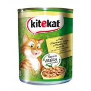 Консерва за котки Kitekat пилешко 800 г