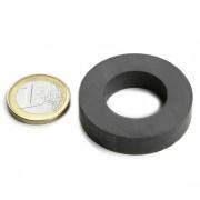Magnet ferita inel, diametru 40/22 mm, putere 2,7 kg