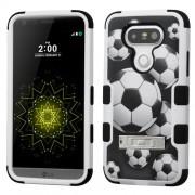 Funda Protector Triple Layer LG G5 Futbol c/pie metalico