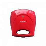 Orion - SZENDVICSSÜTŐ 3 AZ 1-BEN - piros színben -Háztartási eszközök