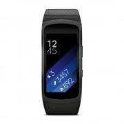 Samsung Gear Fit 2 (Dark Grey, Large, Local Stock)