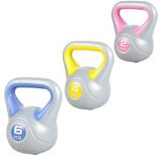 Gorilla Sports Voordeelset Kettlebells 2, 4 en 6 kg Kunststof Trendy