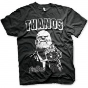Marvel The Avengers Thanos t-shirt zwart voor heren