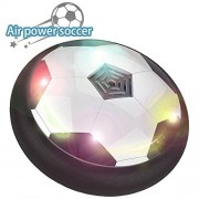 Hover Ball Toys for Kids,Dilcare Air Power Soccer Disc Hovering Soccer Football with Powerful LED light and Foam Bumpers for Indoor and Outdoor games Kids,Gift for boys, Girls and Pets.