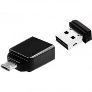 USB dodatna memorija Pametni telefon/Tablet Verbatim Nano 16GB, USB 2.0, Micro USB 2.0, 49821