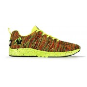 Gorilla Wear Brooklyn Knitted Sneakers (unisex) - Neon Mix - 37
