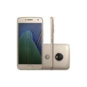 Smartphone Moto G 5 Plus Dual Chip Android 7.0 Tela 5.2 32GB 4G Câmera 12MP - Ouro