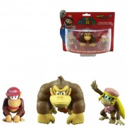 Donkey kong mini s 3 pack - actiefiguur