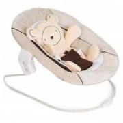 Бебешки шезлонг 2 в 1 - Alpha bouncer Hearts beige, Hauck, 661895