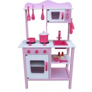 Berry Toys My Cute Pink Wooden Play Kitchen