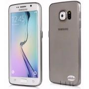 Ahha Gummi Shell Moya Samsung Galaxy S6 Edge Cover (Clear/Black)