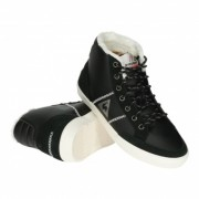 "Le Coq Sportif Mont Charlety Syn Leather ""Black"""