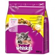 2x 14kg Whiskas Junior csirke száraz macskatáp