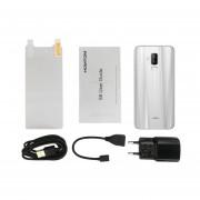 EY HOMTOM S8 De 5,7 Pulgadas 4G RAM 64G ROM De Doble Cámara Trasera-plata Teléfono De Huella Dactilar