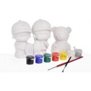 Coloring Activity Kit for Kids 3D Statues -CS-3-5
