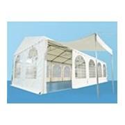 Arabische tentingang PVC 260cm hoog in Wit