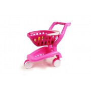 Jeronimo 2 In 1 Toy Shopping Cart - Pink & White