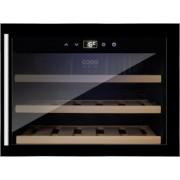 Racitor de vinuri Caso Germany WineSafe 18 EB 628 capacitate 18 sticle control Sensor-Touch tehnologie compresor clasa A negru