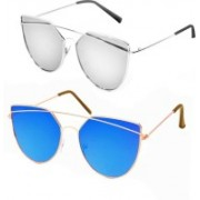 Iconicshades Cat-eye Sunglasses(For Boys & Girls)