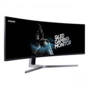 Монитор Samsung C49HG90D Curved 48.9' LED, Ultra HD (3840x1080) 144Hz, Brightness: 350cd/m2, Contrast: 3000:1, Response time: 1ms, LC49HG90DMUXEN