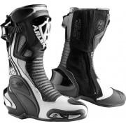 Arlen Ness Pro Shift 2 Motocyklové boty 40 Černá Šedá Bílá