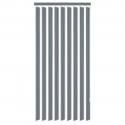 vidaXL Vertical Blinds Grey Fabric 120x250 cm