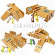 Tradico® Skate Park Ramp Parts for Tech Deck Fingerboard Finger Board Ultimate Parks 92C
