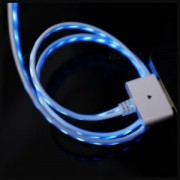 Svítící kabel pro iPhone 4/4S