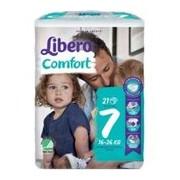 Fraldas comfort 16-26kg, 21 unidades - Libero