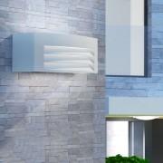 vidaXL szürke kültéri alumínium fali lámpa