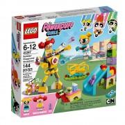 Lego bubbles' playground showdown lego 41287