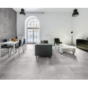 Gresie portelanata Sintesi Italia, Ambienti Grigio 60,4x60,4 cm -AMBGR604604