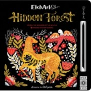 Etchart: Hidden Forest - Reveal the wonders of the wild in 9 amazing Etchart scenes (Wood A. J.)(Novelty book) (9781786030481)