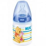 Бебешко шише за хранене със силиконов накрайник 150 мл. Дисни, Nuk, асортимент, 101943