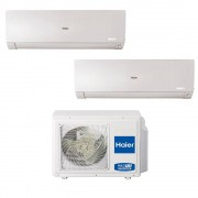 HAIER Climatizzatore Haier Flexis Dual Split 7000+9000 Btu Wifi Inverter In R32 2u40s2sc1fa A+++