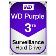 Твърд диск Western Digital Purple, 3.5, 3TB, SATA/600, 64MB cache, WD30PURZ