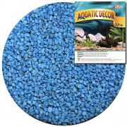 COBBYS PET AQUATIC DECOR Štěrk modrý 3-4mm 2,5kg