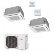 Daikin Condizionatore FTXM20M FTXJ35MS 2MXM50M Dual Split FTXM-M Perfera + Emura WiFi Gas R-32 Bluevolution 7+12
