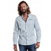 emilio adani Fein gemustertes Hemd mit einzigartigen Knöpfen