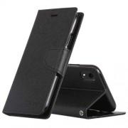 Mercury Pouzdro / kryt pro iPhone XR - Mercury, Fancy Diary Black/Black