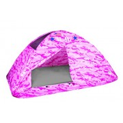 Pacific Play Tents Pink Camo Bed Tent Playhouse