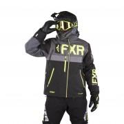 FXR Helium X Jacka Svart-HiVis