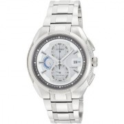 Citizen Round Dial White Stainless Steel Strap Analog Watch for Men - CA0201-51B