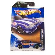 Hot Wheels 2011 HW Racing '92 Ford Mustang on Green Lantern Card