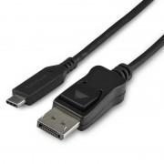 Startech Cable Adaptador USB-C a DisplayPort 1.4 8K 60Hz 1m Negro