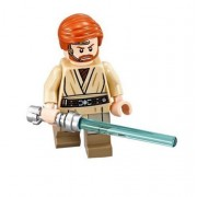 LEGO Star Wars Minifigure - Obi-Wan Kenobi Headset with Lightsaber (75135)