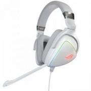 Геймърски слушалки ASUS ROG Delta Hi-Res ESS Quad-DAC, Aura Sync, Бял, ASUS-HEAD-ROG-DELTA-WH